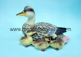Polyresin/polystone duck crafts