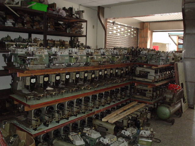 USED SEWING MACHINE TAIWAN JAPAN Taiwan Trading Company Beauteous Used Sewing Machines