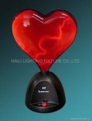 Heart shape plasma light