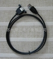 USB RJ45 cable with hoods