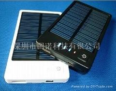 便携太阳能充电器 移动电源 应急充电器