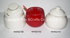 Porcelain Sugar Pot Gift