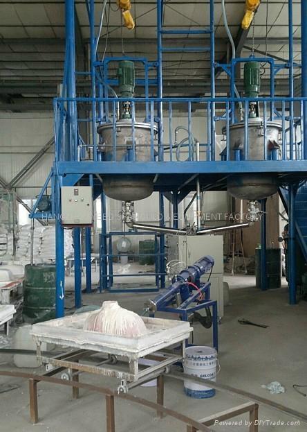 Artificial Stone Extrude Machine 1