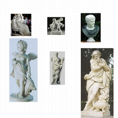 marble sculpture, marble statue,marble bust