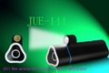Waterproof MP3 speak flashlight sports camera