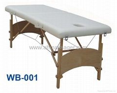 massage table 2-section