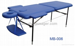 Metal portable massage table MB-006