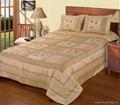 bedding, quilt, bedspread, bedcover