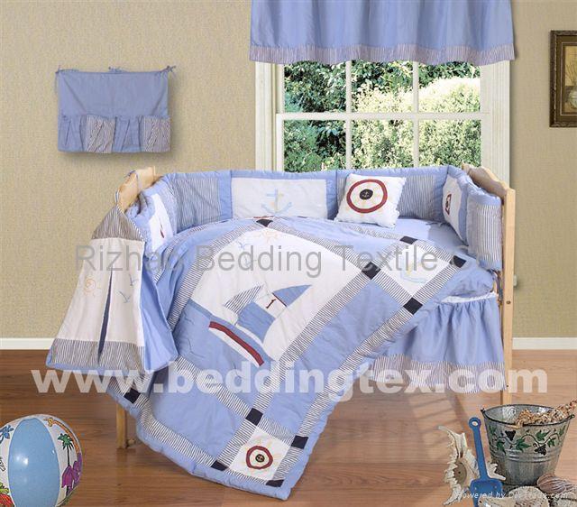 crib (baby)bedding set 1