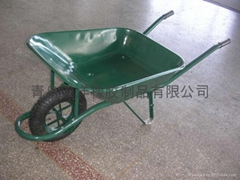 wheel barrow, garden cart