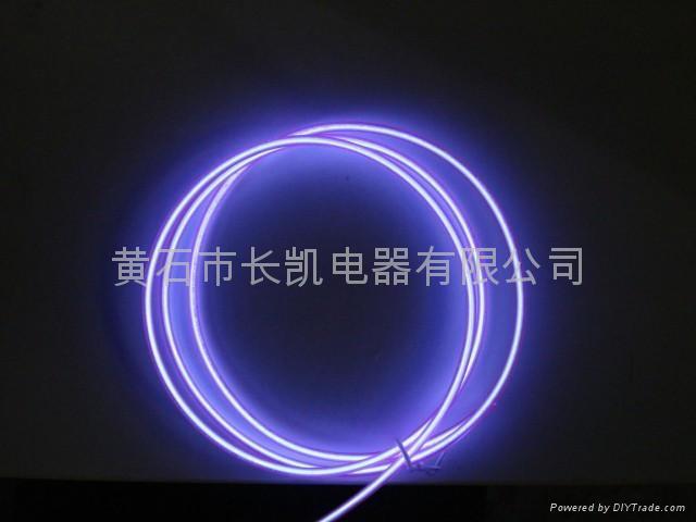 EL发光线-紫(获得美国发明专利和中国发明专利) 1