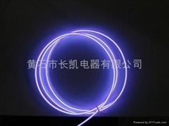 high brightness purple EL wire