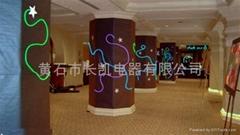EL發光線應用於室內裝飾