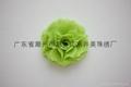 Handmade chiffon flowers 3