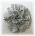 Handmade chiffon flowers 4