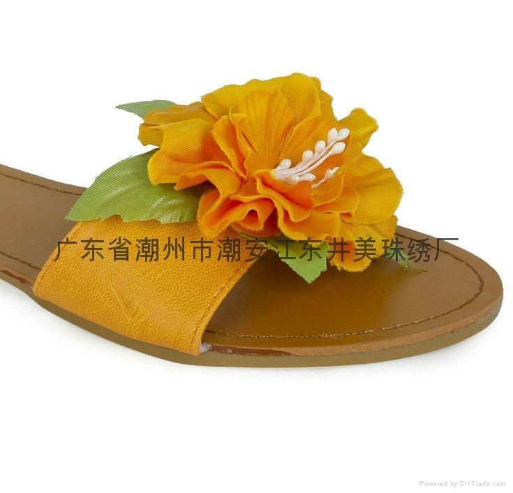 皮革鞋花胸花头花装饰花 2