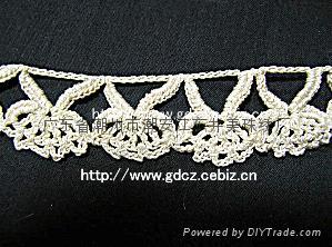 Handmade crochet lace 1