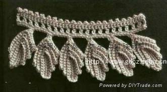 Handmade crochet lace 2
