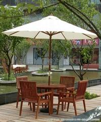 实木户外桌椅木制户外家具