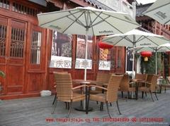 咖啡厅户外桌椅