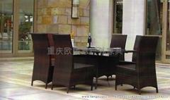 室外餐厅桌椅