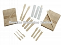 Birch Wood Chip Forks