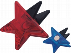 5 STARS SHAPE STATIONERY CLIP WITH MAGNET
