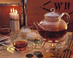 HEAT-RESISTANT GLASS TEA  POT SET