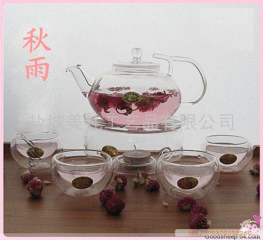 GLASS TEA POT 1