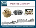 Extruded pet dog snack food processing