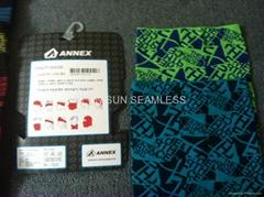 seamless scarve/ seamless headband