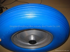 Flat Free PU Wheels