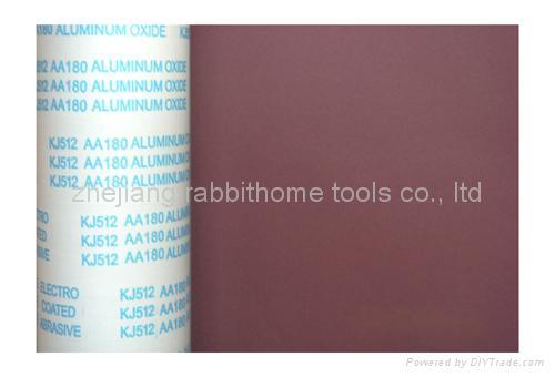abraisve aluminium oxide  flexible cloth roll 1