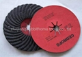 abrasive turbo fiber disc