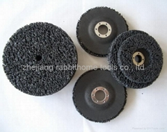 abrasive clean and strip wheel