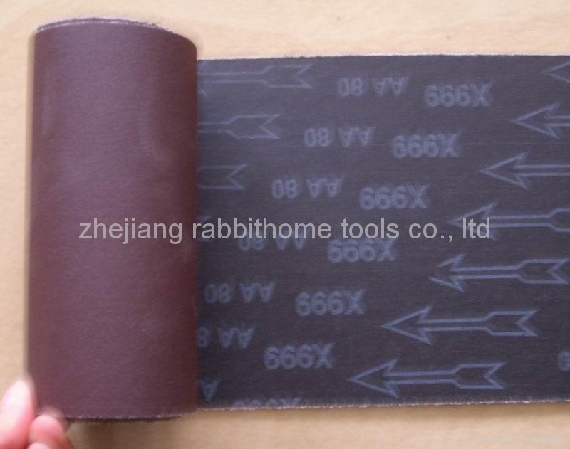 abrasive cloth roll  1