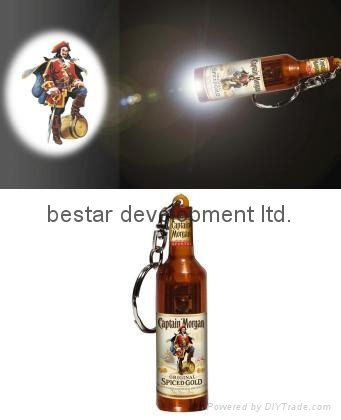 captain morgan logo projector