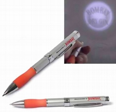 Led Projected pen with single lens