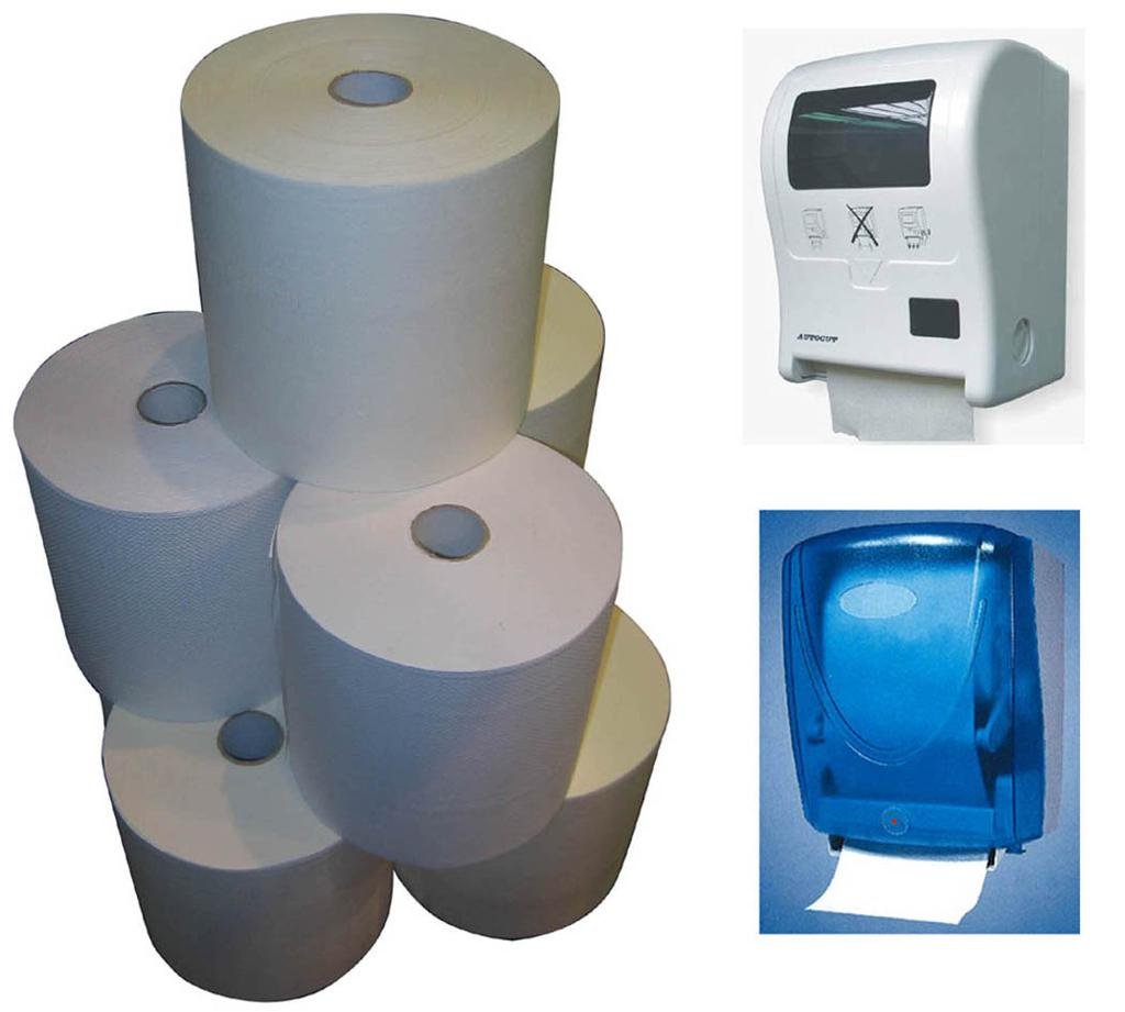 Jumbo Hand Roll Paper Towel And Touch-free HRT Dispenser