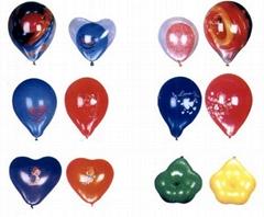 彩色气球、珠光气球、礼品气球、广告气球