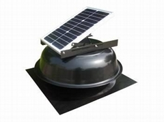solar attic fan 15W round type