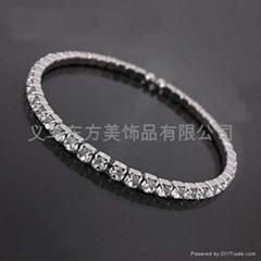 新娘婚礼配件手镯钻石