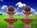 風水球 石球 水轉球