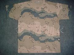 针织迷彩t-shirt