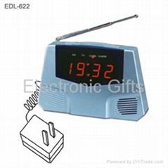 LED日曆鬧鐘FM收音機