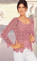 hand crochet shirt
