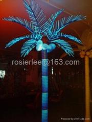 Palm tree light coconut tree light road light outdoor lighting