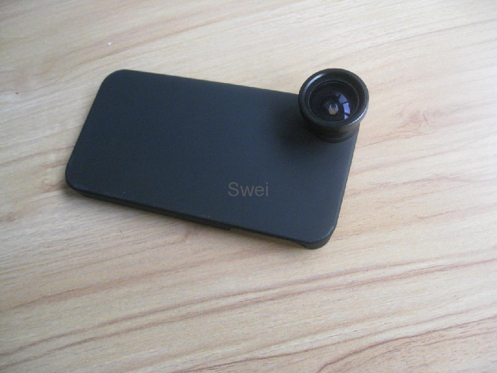 160° Detachable Fish Eye Lens for iPhone4G 4