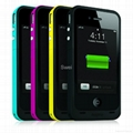 2000mAh External Battery Case Juice Pack Plus For iPhone4/4S