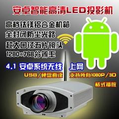 Hd intelligent 3D projector